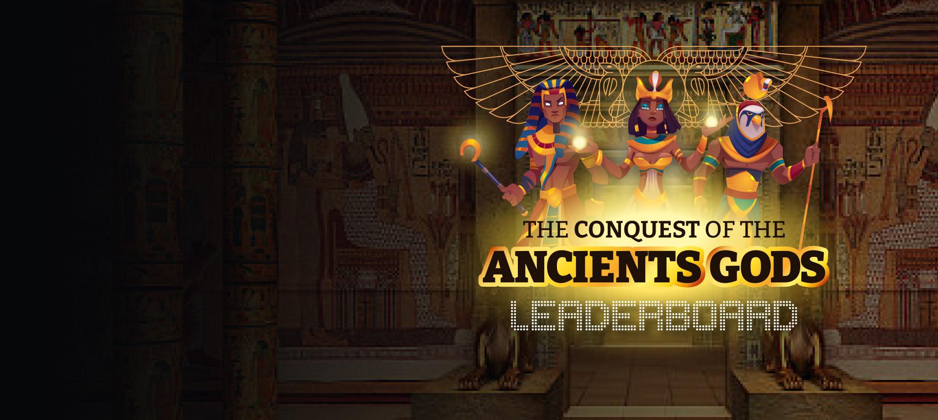 Llega a la cima y consigue el favor de los Antiguos Dioses para ganar premios increíbles